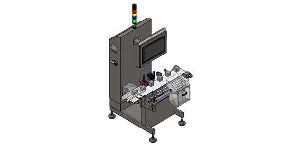 u-track machine designed for primary package serialization