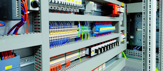 industrial automation services CONTROL Panel manufacturing
